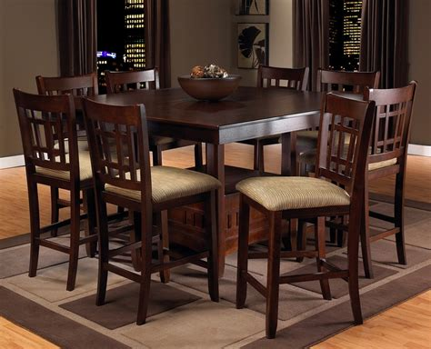 Dining Room Stunning Pub Style Dining Room Table Bar