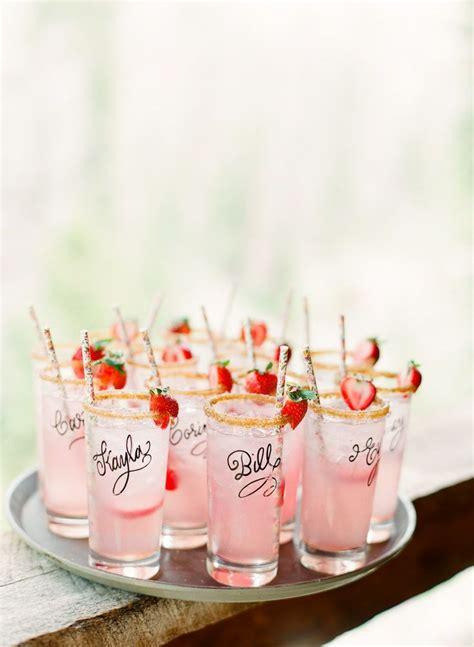 summer wedding drinks ideascocktail hour
