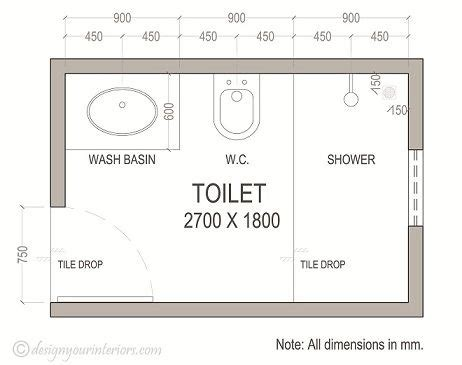 Bathroom Floor Plans Dimensions by Small Ensuite Bathroom Design Ideas Small Decor 11 On