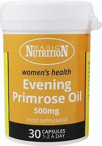 Basic Nutrition Evening Primrose Oil 30 U0026 39 S