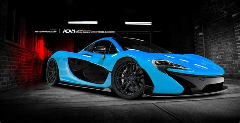 Deadmau5's Mclaren P1 To Be Bright Blue Gtspirit