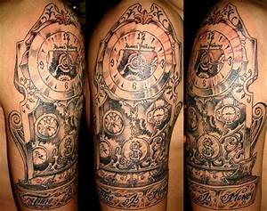 Time is Money | Ink ~ Clocks, Compass and Hourglass ...