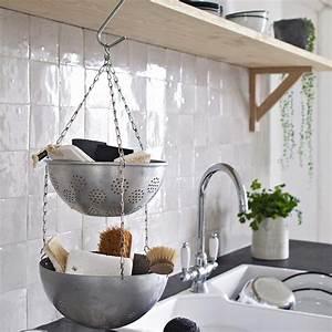 un rangement recup dans la cuisine marie claire With idée de rangement cuisine
