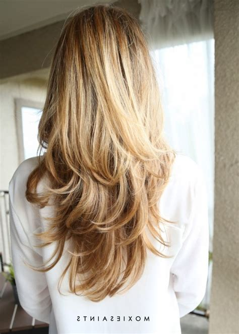 layered long blonde hair 1000 ideas about long layered