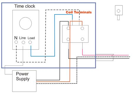 Electrical Lighting Contactor Wiring Diagram by Electrical Education Electricians How To Wire