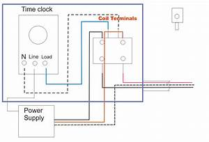 Digital Clock Wiring Diagram