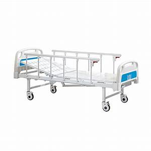 Supply 1 Function 1 Crank Manual Hospital Bed Factory