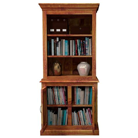 Bookcase With Storage by Idaho Modern Solid Wood Standard Bookcase Storage Cabinet