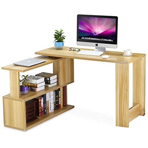 modern l shaped computer desk tribesigns modern l shaped desk rotating computer desk pc
