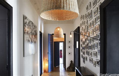 idee decoration mur couloir