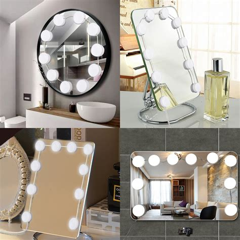 Vanity Mirror With Bulbs - tsv style led vanity mirror lights kit with
