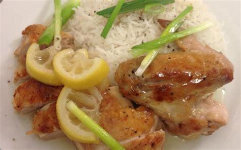 cuisine chinoise facile recette poulet au citron à la chinoise facile pas chère et