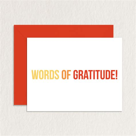 greeting card words of thank you words appreciation