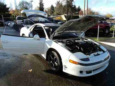 accident recorder 1992 mitsubishi gto security system find used 1992 mitsubishi 3000gt vr 4 coupe 2 door 5 speed 3 0l no resreve no reserve in