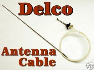 Delco Cadillac Deville Power Antenna Mast Cable New Ebay