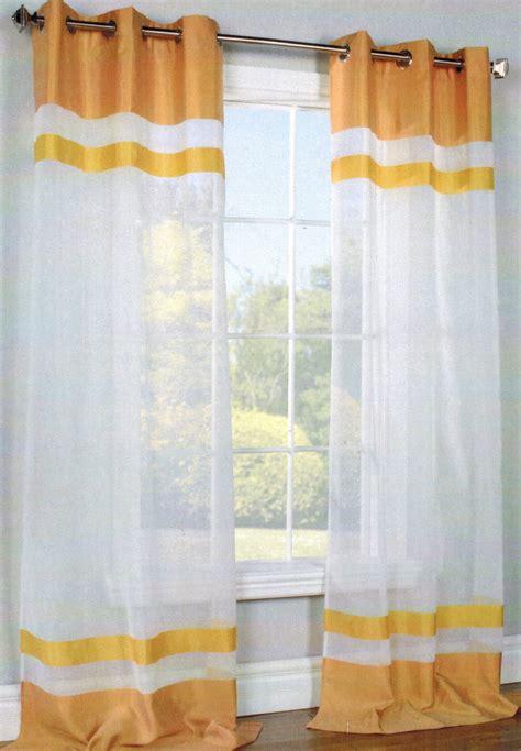 j kaleidscope semi sheer grommet top curtain panel sold out