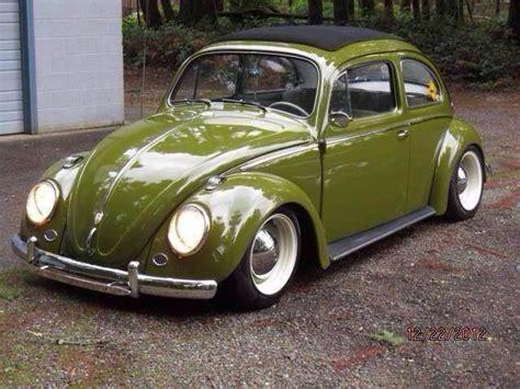 volkswagen green olive green vw beetle soft top dream ride pinterest