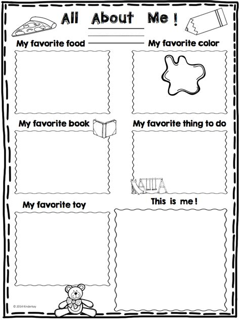 those kinders all about me mini poster freebie 407 | all about me poster.002