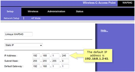 Linksys Official Support Configuring An Access Point As Linksys Official Support Checking And Configuring The Ip