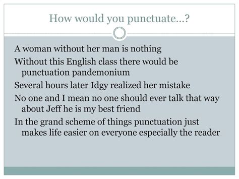 Punctuation Errors In Resumes by Writing Center Workshops Punctuation