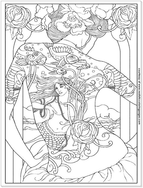 Adult Pages For Men Coloring Pages