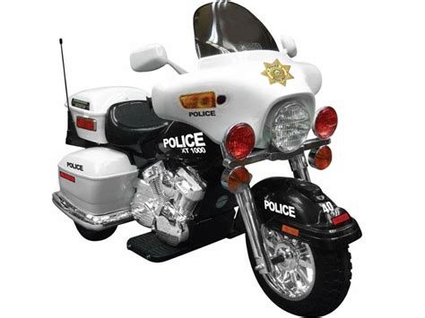 Npl Patrol H. Police Motorcycle 12 Volt Battery Powered