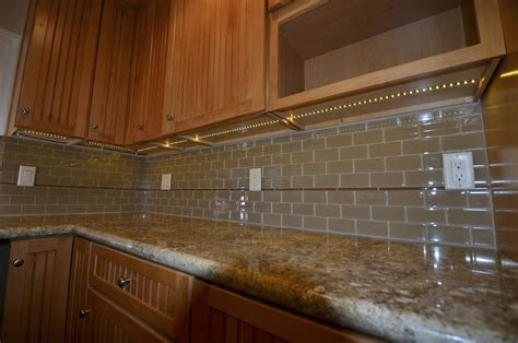 Hardwired Under Cabinet Lighting Kitchen Image