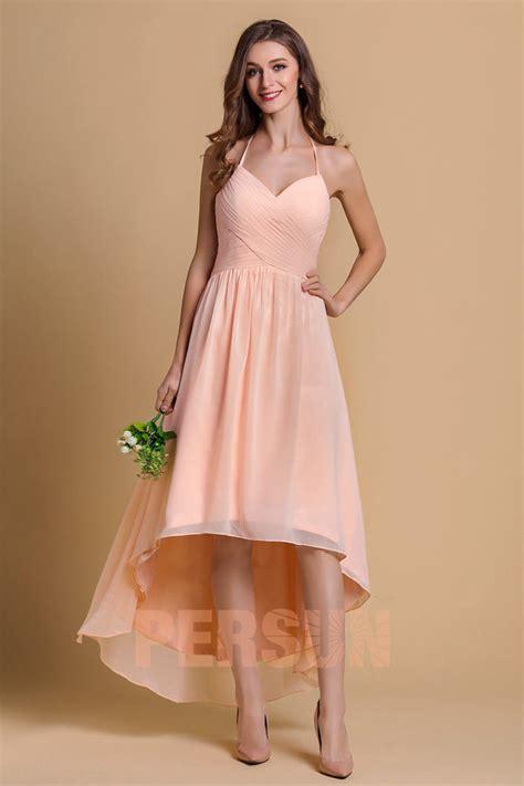 robe longue soiree gala robe soir 233 e aux bretelles fines courte devant longue