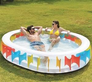 Pool Aufblasbar Groß : gro oval aufblasbar kinder familie schwimmen paddeln garten pool regenbogen ebay ~ Yasmunasinghe.com Haus und Dekorationen