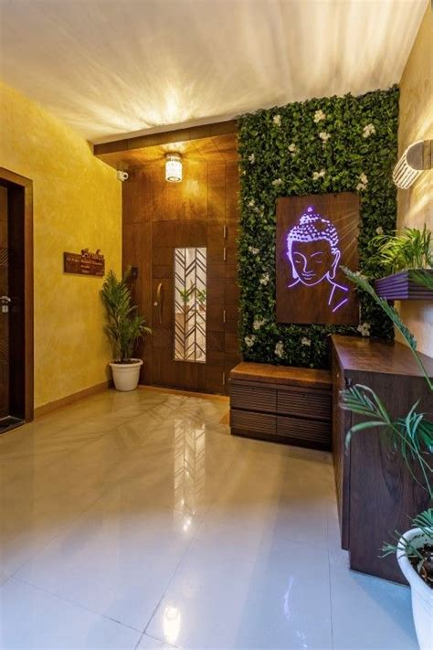 simple apartment design vinayak consultants  architects diary home entrance decor main