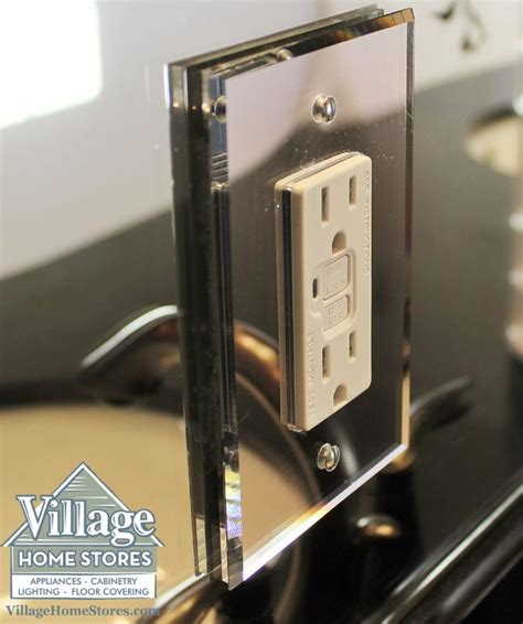 beveled mirror outlet cover     choice