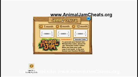 animal jam  membership cheats  youtube