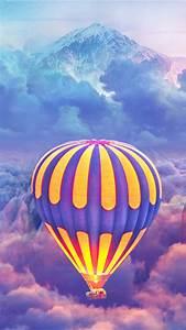 Hot, Air, Balloons, Over, The, Cloud, Mountain, 4k, Ultra, Hd, Mobile, Wallpaper