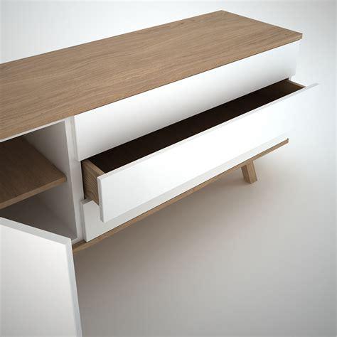 Sideboard Eiche Modern by Ottawa Sideboard 1 3 White Join Furniture