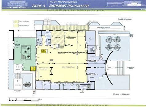 palais des congres plan salle espaces