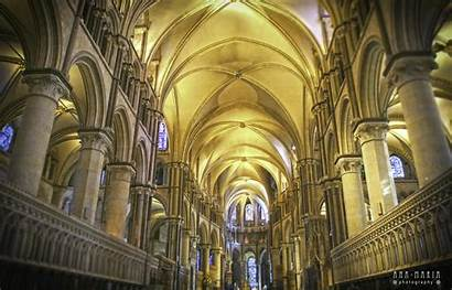 Cathedral Canterbury Inside Architecture 4k Background Wallpapers