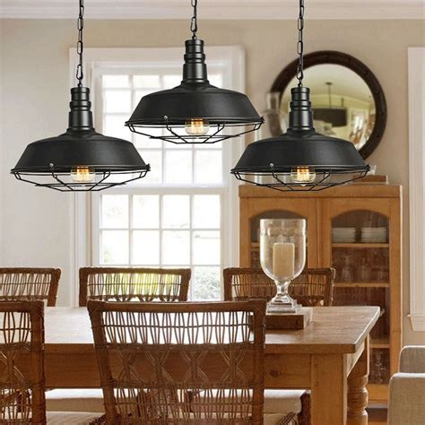 YWXLight Retro Industrial Pendant Light Creative Single