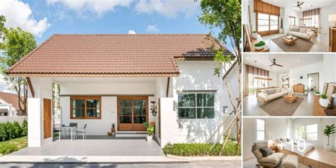 บ้านชั้นเดียวสไตล์ Minimal Muji - คนรักบ้านและสวน