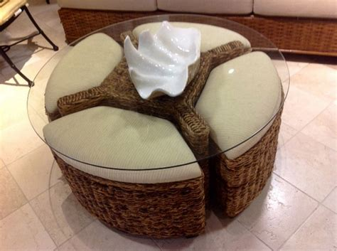 coffee table with ottomans underneath round coffee table target with seating underneath with