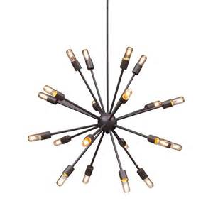 zuo sapphire 20 light rust chandelier 98238 the home depot