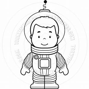 Astronaut Clip Art Black and White (page 2) - Pics about space