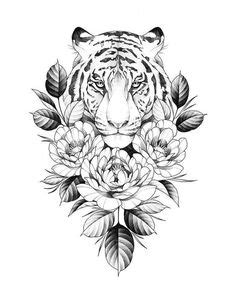 loral thigh/hip design up for grabs ! Happy to tattoo this at one of my upcoming   Tattoos