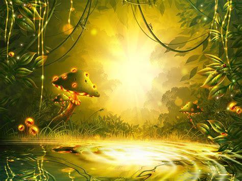 create  fantasy game background  adobe photoshop