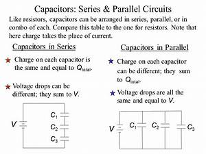 Capacitors In Series Definition