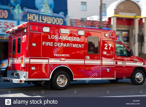 Ambulance Emergency Vehicle Usa Stock Photos & Ambulance