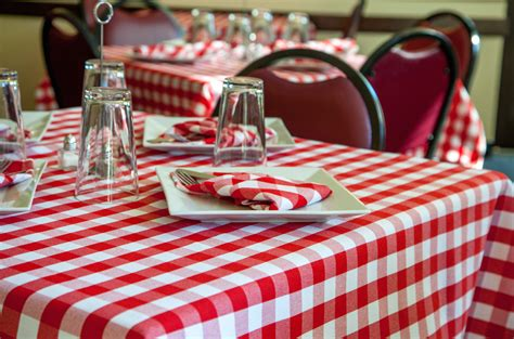 Checkpoint™  Checked Linens  Milliken Table Linens
