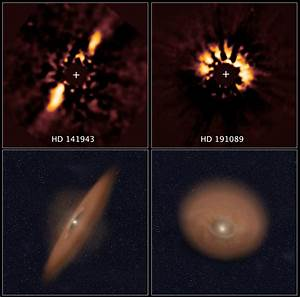 Astronomical Forensics Uncover Planetary Disks in NASA's ...