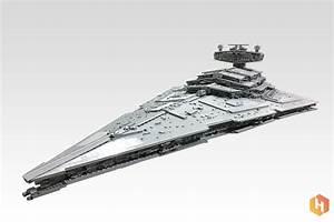 Massive LEGO Star Wars Imperial Star Destroyer is 2.2m ...