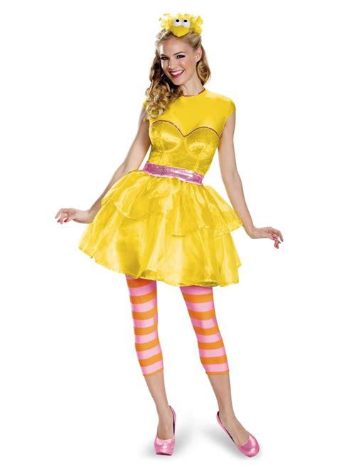 sesame street big bird women costume tv show costumes