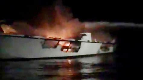 deadly california boat fire  dive community struggling